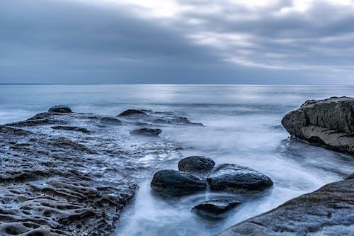 H2O, 和平的, 地平線, 天性 的 免费素材照片