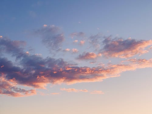 Free stock photo of amazing, blue, clouds, iphone