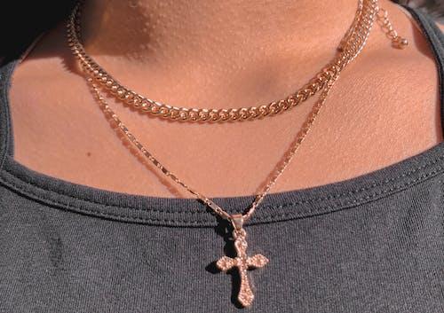 Free stock photo of black, california, chain, Christ