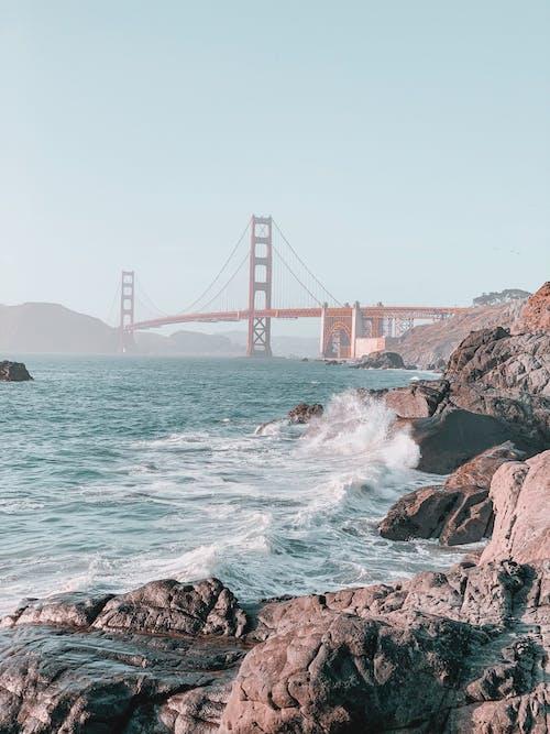 Free stock photo of beach, bridge, california, clear