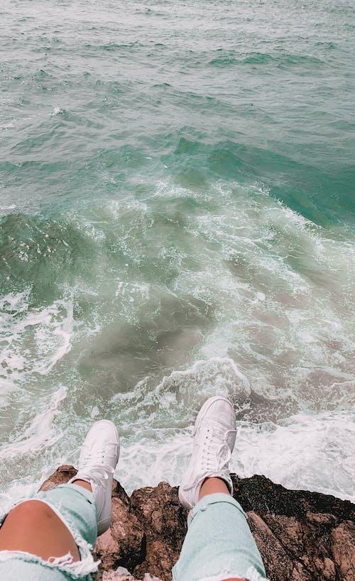 Free stock photo of adventure, beach, cliff, cool