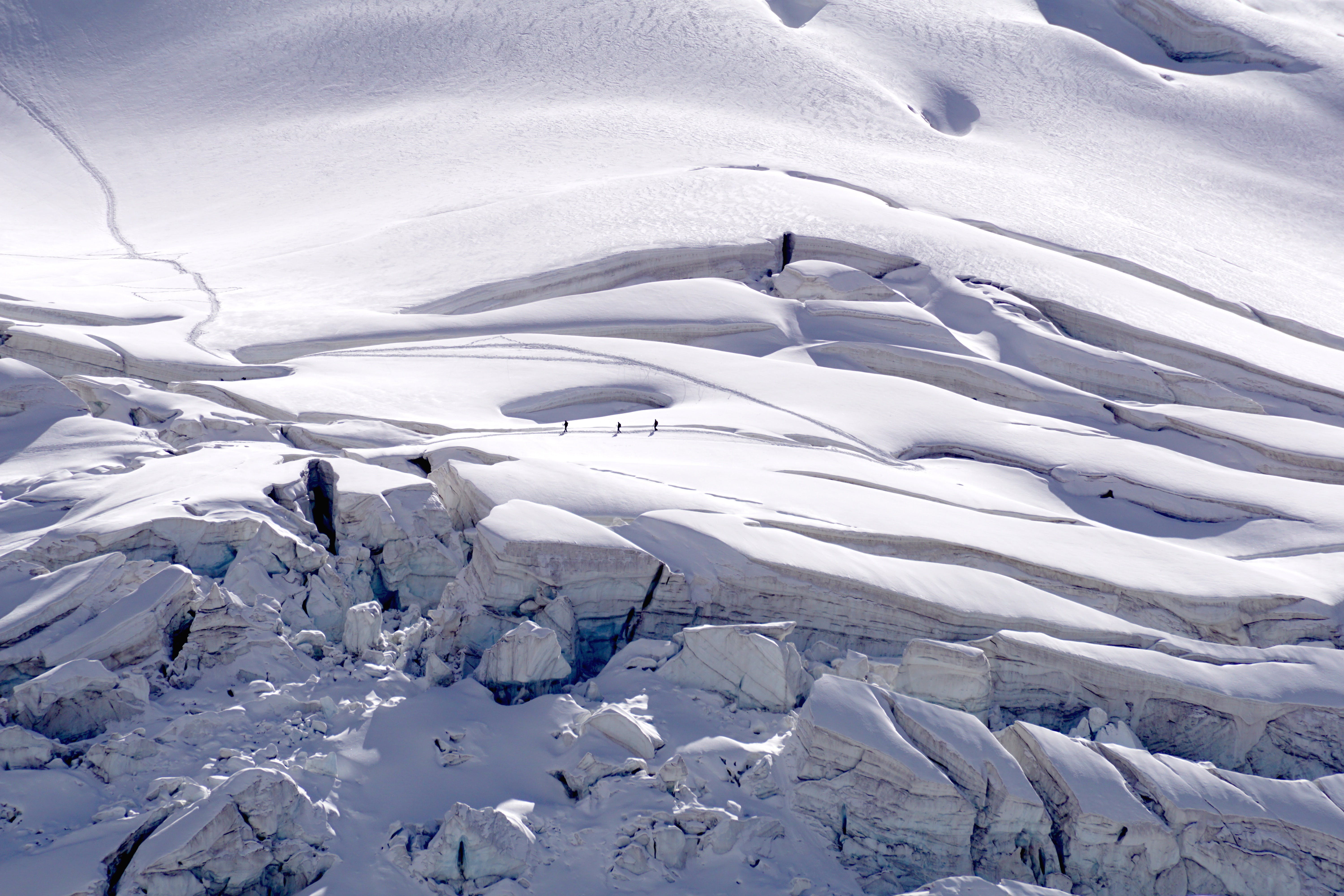 Aerial Photography of Alps