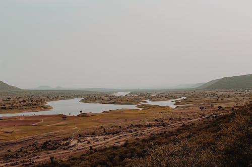 dağlar, vadi manzarası içeren Ücretsiz stok fotoğraf