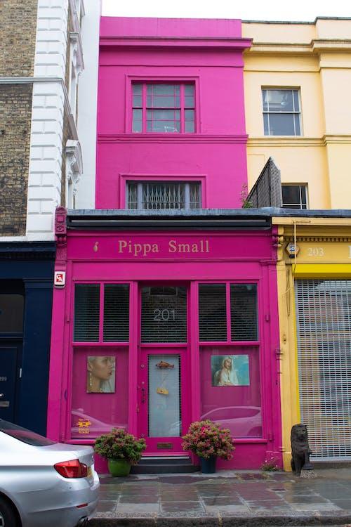 분홍색, 아파트의 무료 스톡 사진