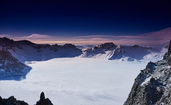 Free stock photo of winter, china, changbai mountain