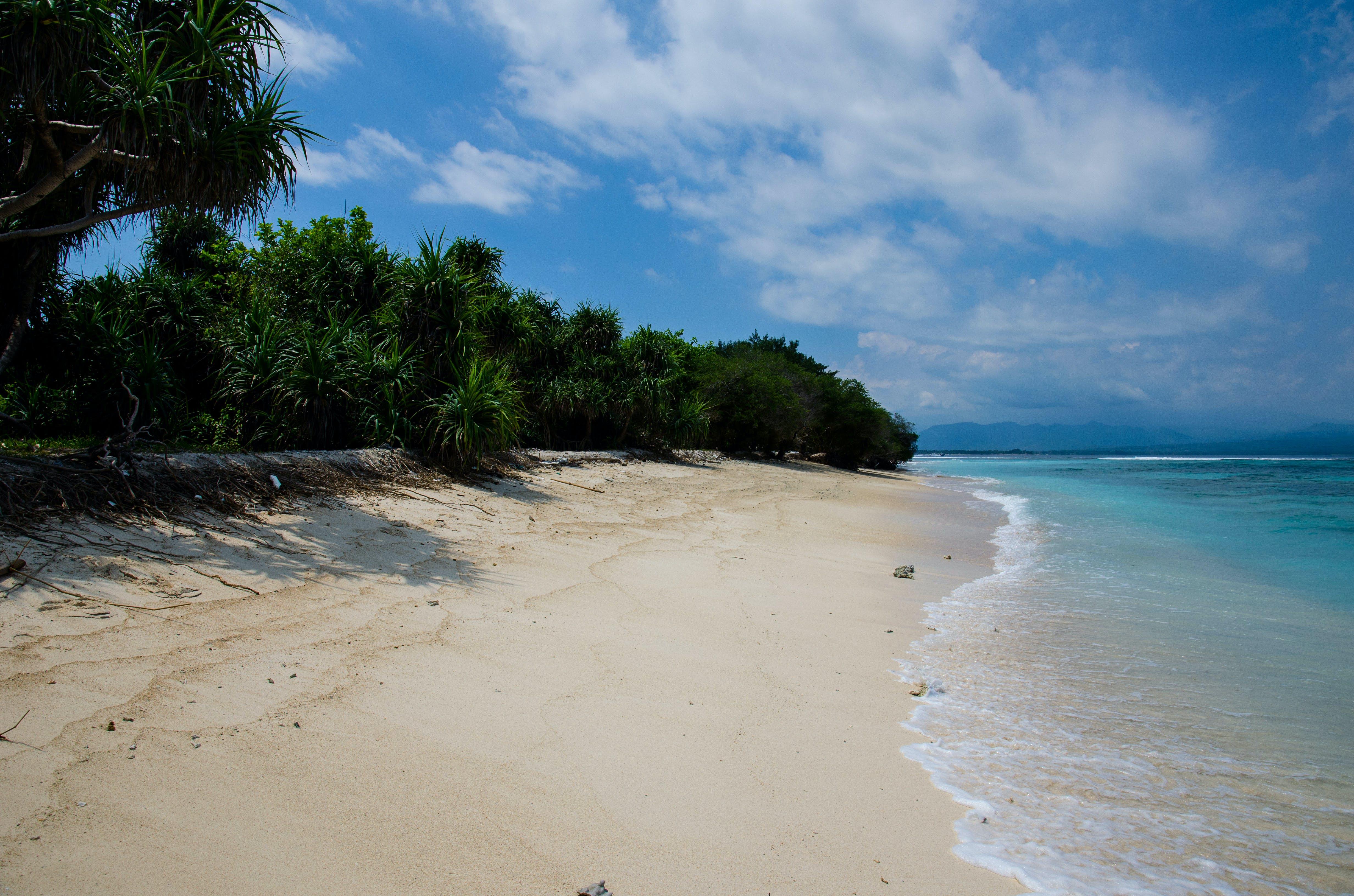 Kostenloses Stock Foto zu insel, meeresküste, strand, verlassen