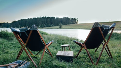 Free stock photo of bliss, camping, chair, nature