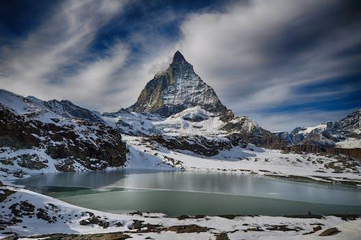 Hike in Matterhorn, Switzerland