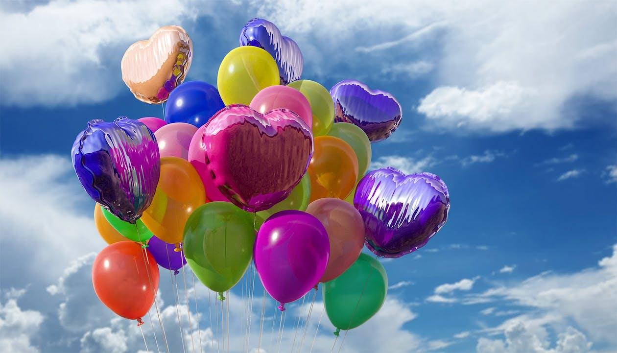 Free stock photo of a lot, balloon, balloons