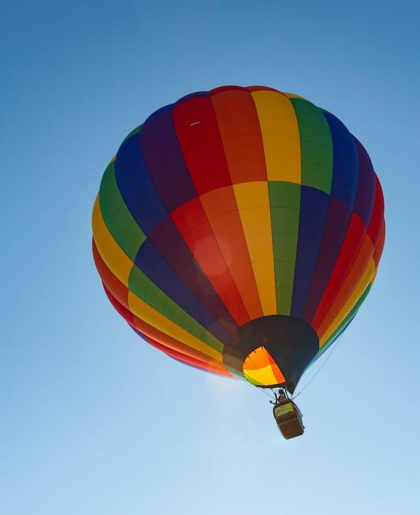 кольори, монгольф'єр, повітряна куля