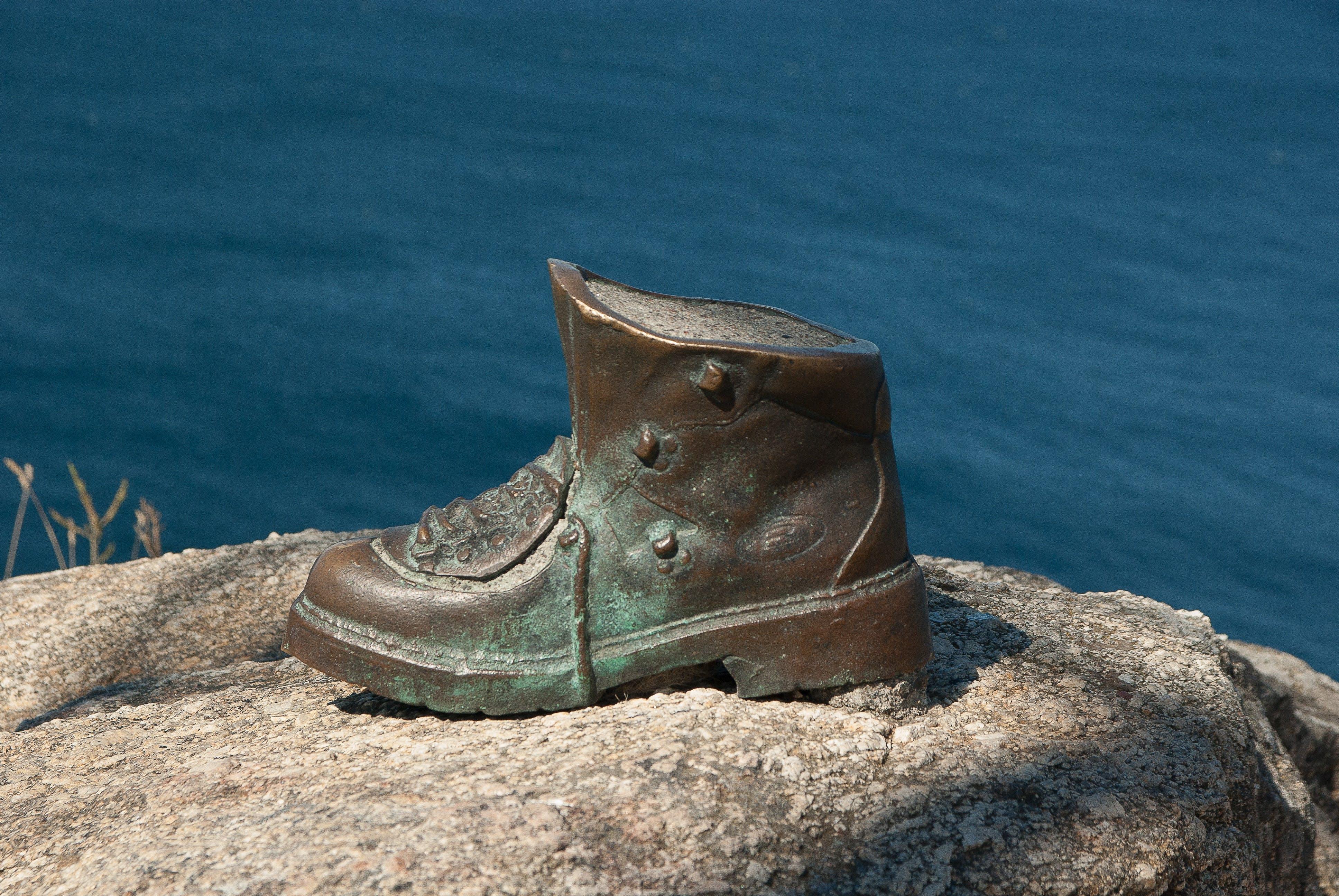 Free stock photo of sculpture, shoe, walker, santiago de compostela
