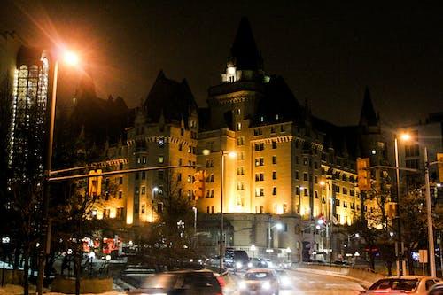 オタワ, カナダ, 夜の光, 建物の無料の写真素材