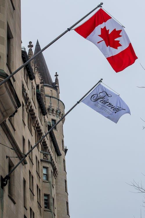 おもてなし, オタワ, カナダ, カナダの旗の無料の写真素材