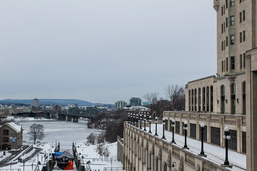 オタワ, カナダ, シティ, スカイラインの無料の写真素材