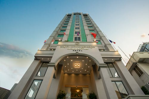 Free stock photo of building, cambodia, hm grand central hotel, hotel