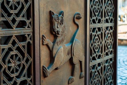 Foto stok gratis Bulgaria, gerbang, singa