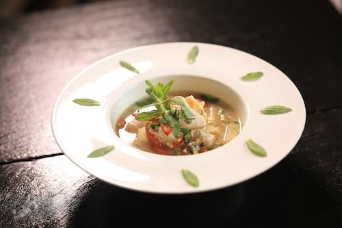 咖哩, 柬埔寨, 盤子, 裝飾 的 免费素材照片