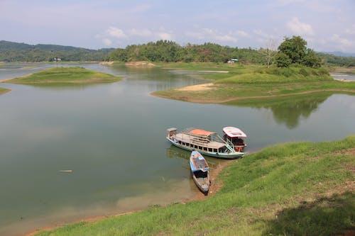 Gratis lagerfoto af båd, landskab, skønhed i naturen