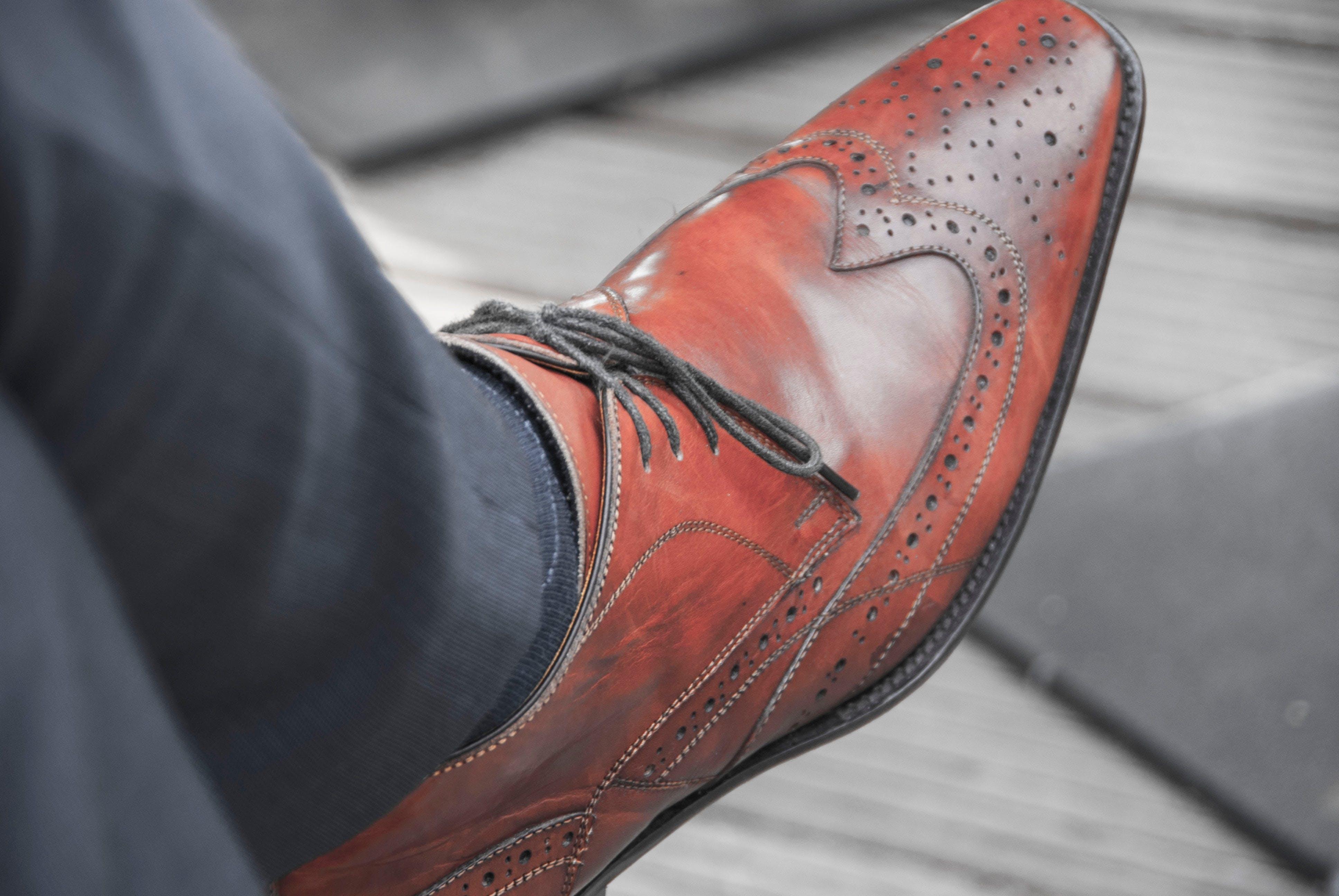 Free stock photo of pants, shoe, detaild