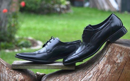 Pair of Black Dress Shoes