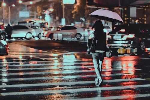 Imagine de stoc gratuită din 下雨, 交通, 人文, 北京