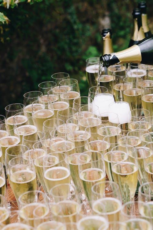 alkoholhaltiga drycker, bar, champagne