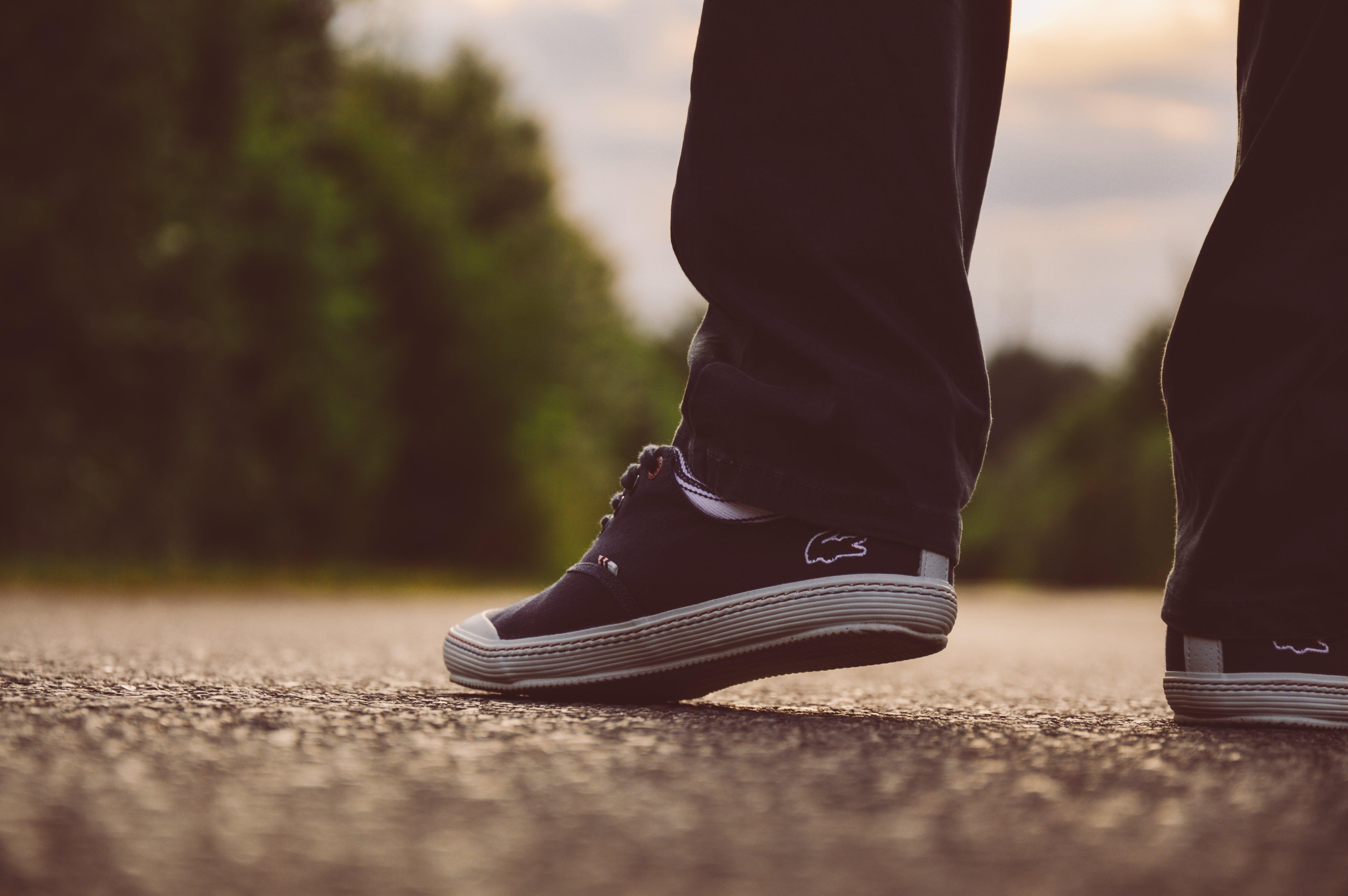 Free stock photo of fashion, shoes, ground, pavement