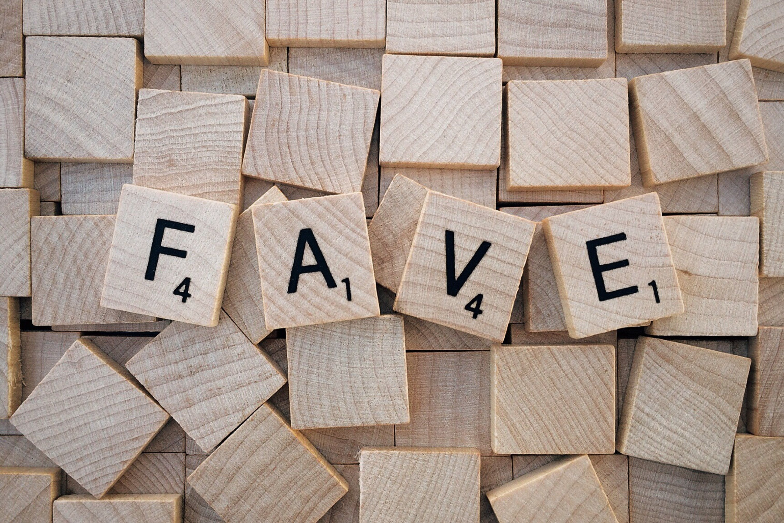 Fave Scrabble Piece