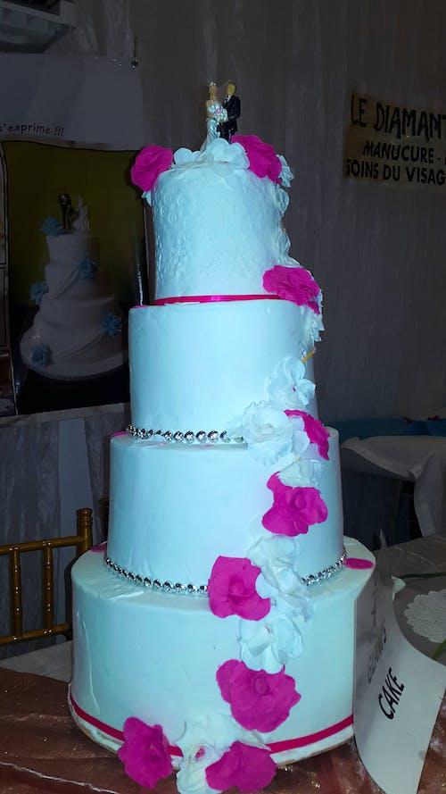 Foto profissional grátis de acontecimento, Bolo de casamento, casamento