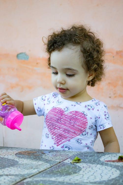 Základová fotografie zdarma na téma cachos, děti, dítě, holka