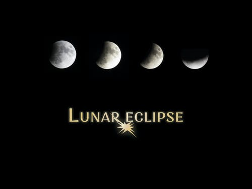 日蝕, 晚上, 月亮, 月光 的 免費圖庫相片