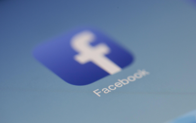 Logo de Facebook. | Photo : Pexel
