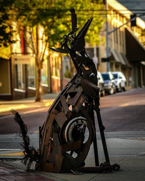 Fotos de stock gratuitas de calle de la ciudad, escultura