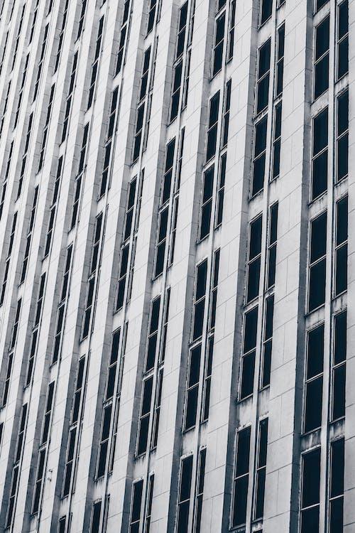 architektonický dizajn, architektúra, čierna a biela