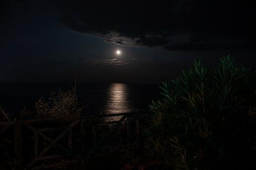 Photos gratuites de antalya, clair de lune, léger, lune