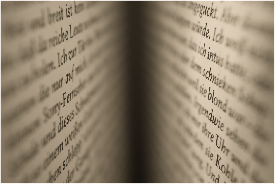 abstract, blur, book