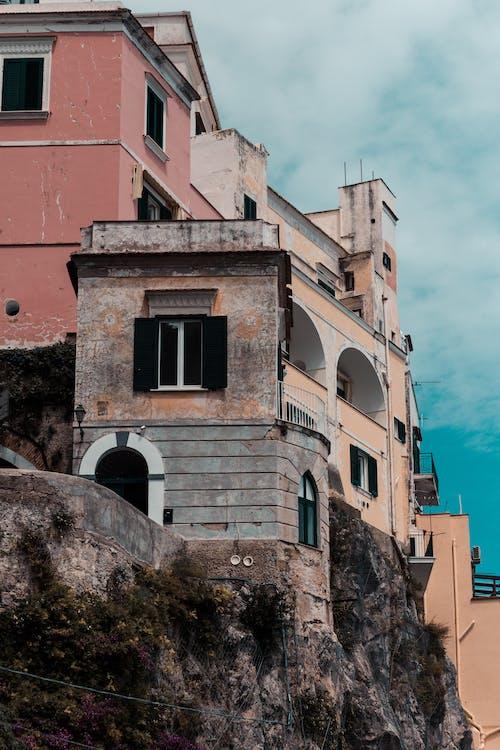 街, 阿馬爾菲海岸, 阿马尔菲 的 免费素材照片