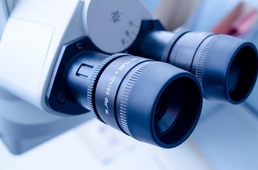Kostenloses Stock Foto zu blau, industrie, technologie, linse