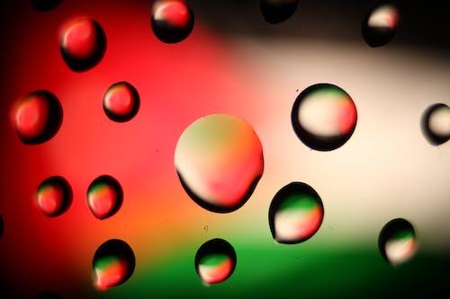 Foto stok gratis penuh warna, setetes air