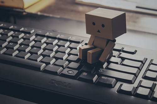 Photos gratuites de clavier, danbo, nature morte, sentiment