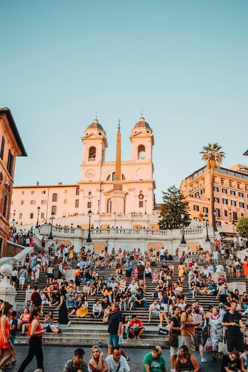 Photos gratuites de espanol, gens, italie, marches