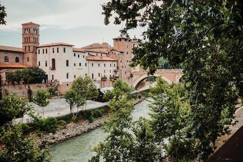 Photos gratuites de fleuve, italie, rome, rue
