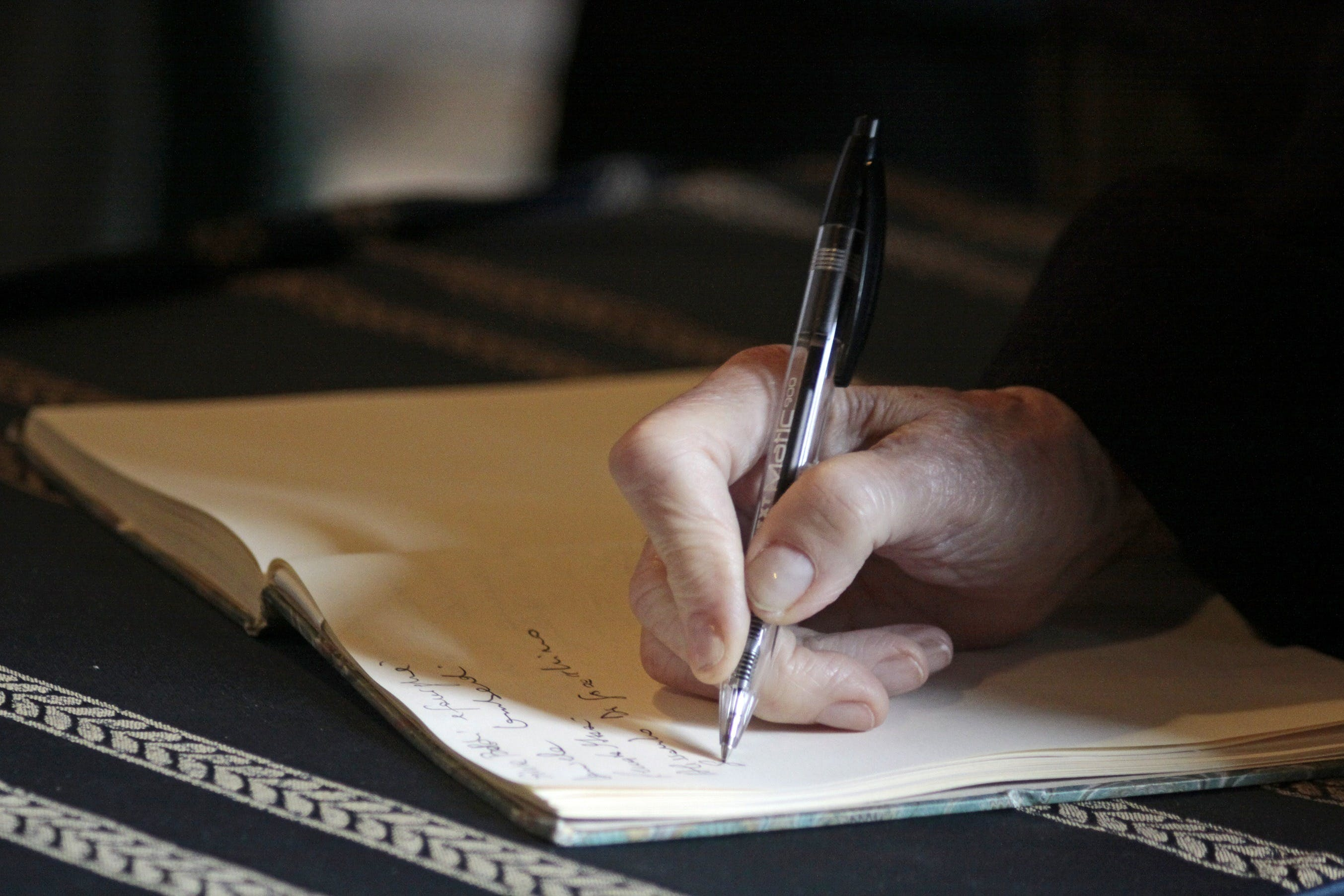 Free stock photo of people, hand, pen, writing