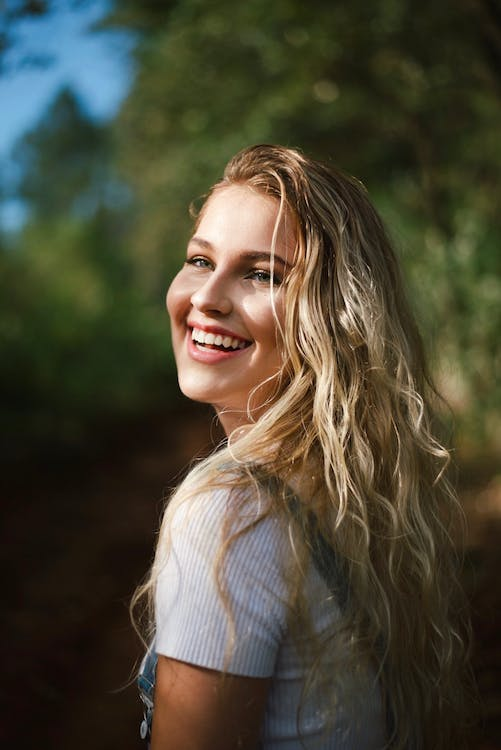 Photo of Woman Smiling