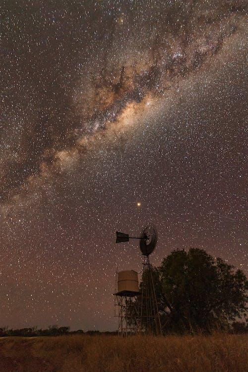 Samanyolu, ünlüler, yıldız fotoğrafı, yıldızlar içeren Ücretsiz stok fotoğraf