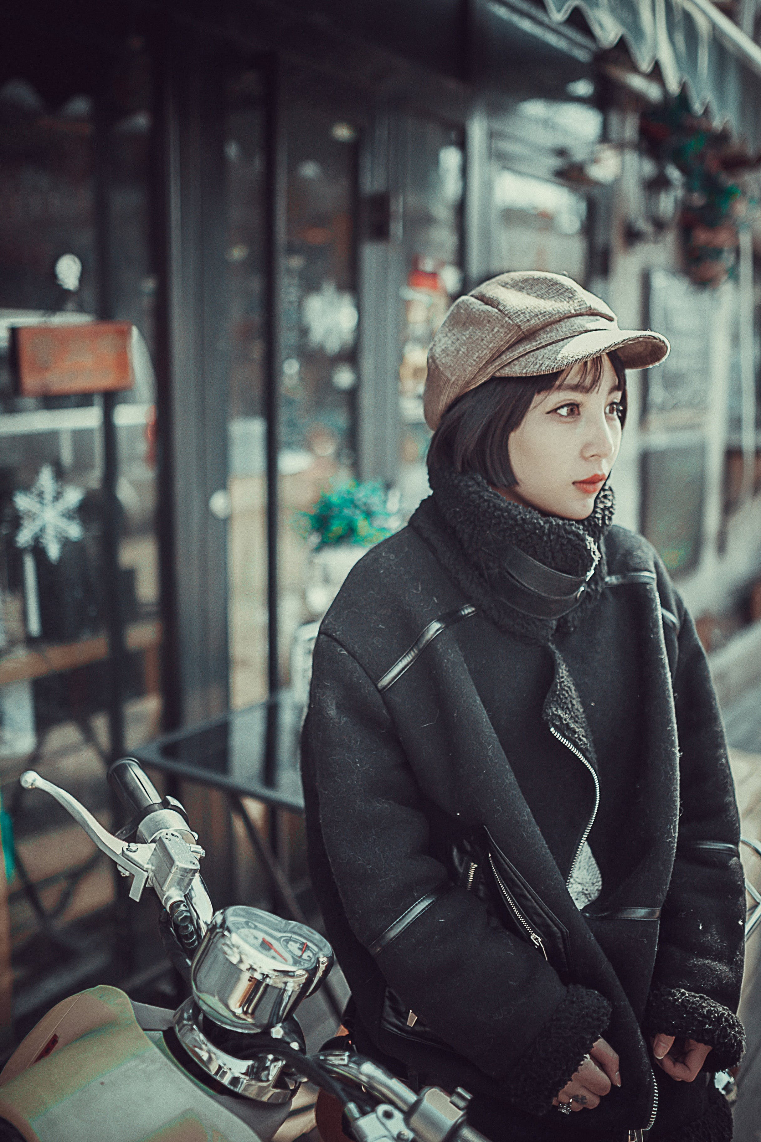 Kostenloses Stock Foto zu kalt, stadt, fashion, person