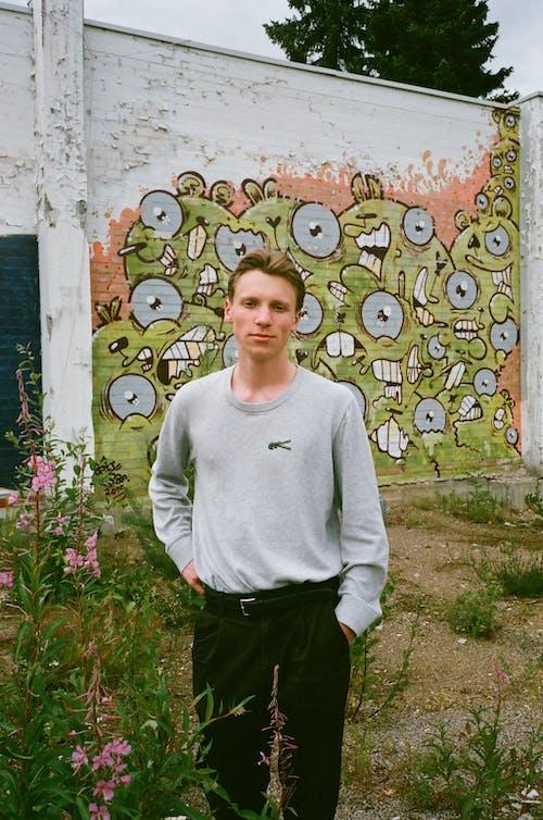 거리 예술, 그래피티, 꽃, 나뭇잎의 무료 스톡 사진
