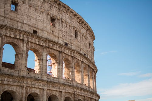 アート, イタリア, コロシアム, フラビアン円形劇場の無料の写真素材