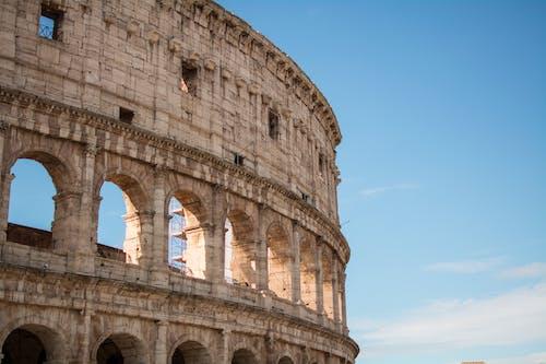 Photo of Coliseum Under Blue Sky