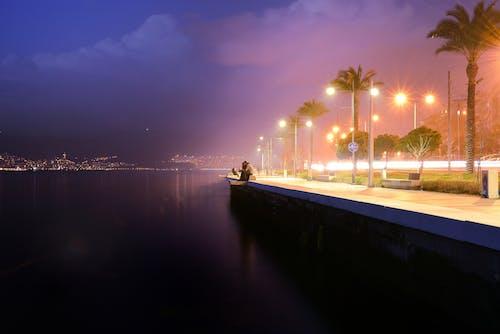 bluehour, deniz, mistik içeren Ücretsiz stok fotoğraf